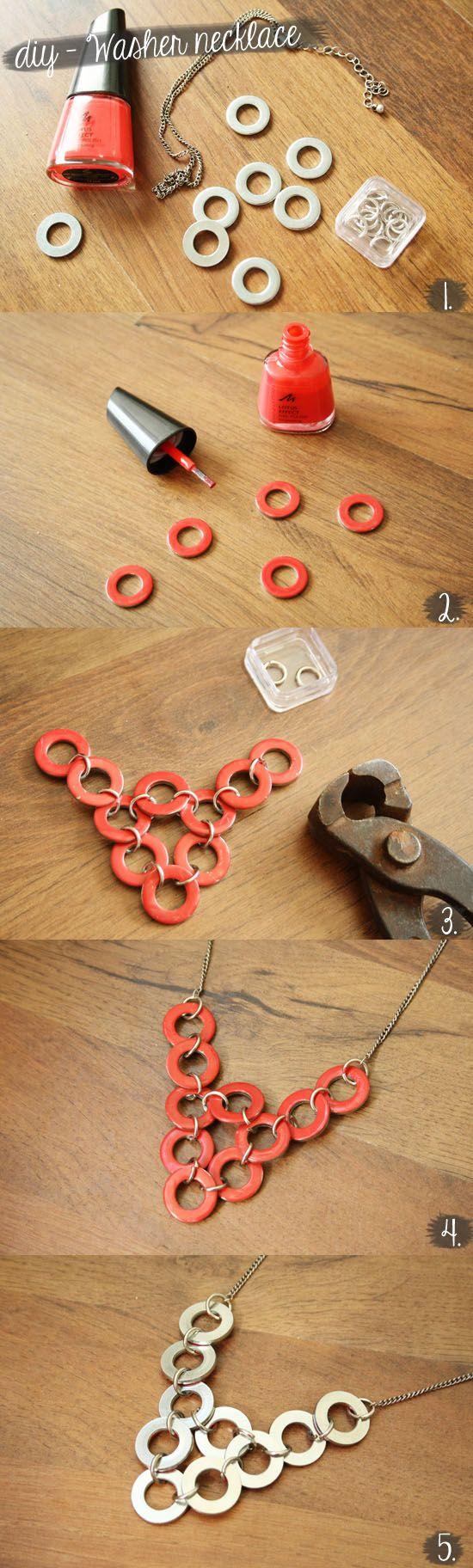comment fabriquer collier sautoir