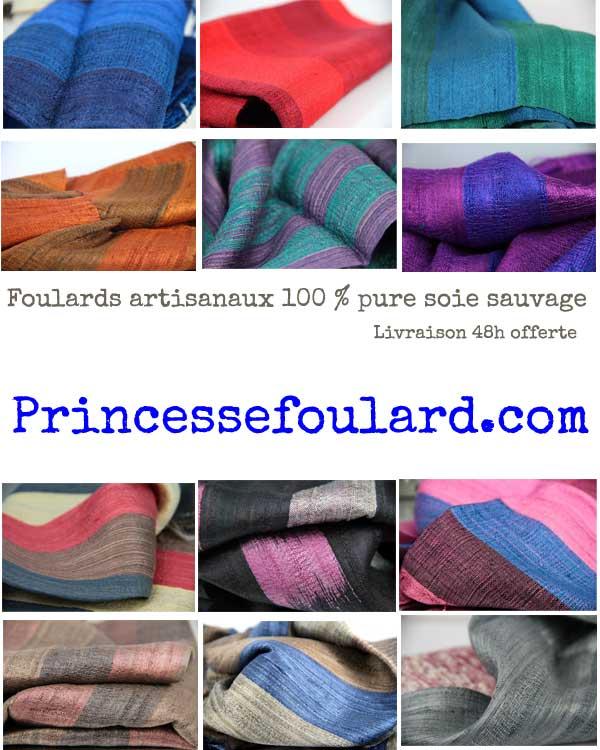 foulard-en-soie-artisanaux